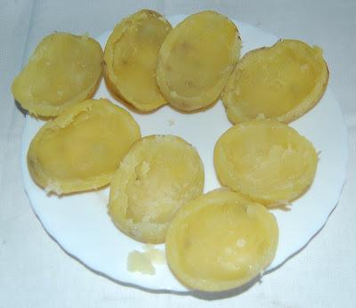 Se vacían las patatas
