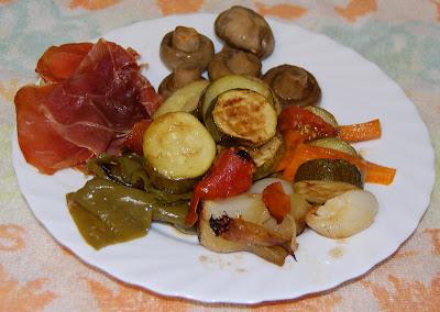 Verduras a la parrilla (plato)