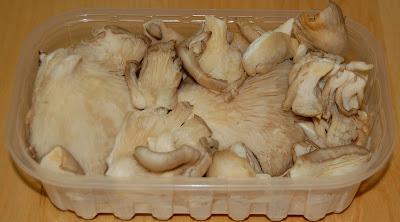 Medio kilo de gírgolas
