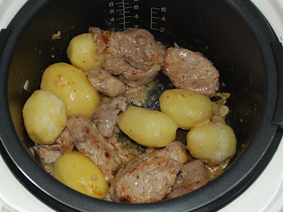 Solomillo y patatas