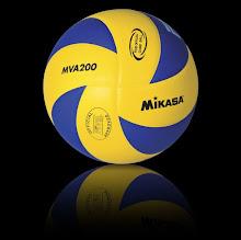 Balón de Voleibol Mikasa MVA200