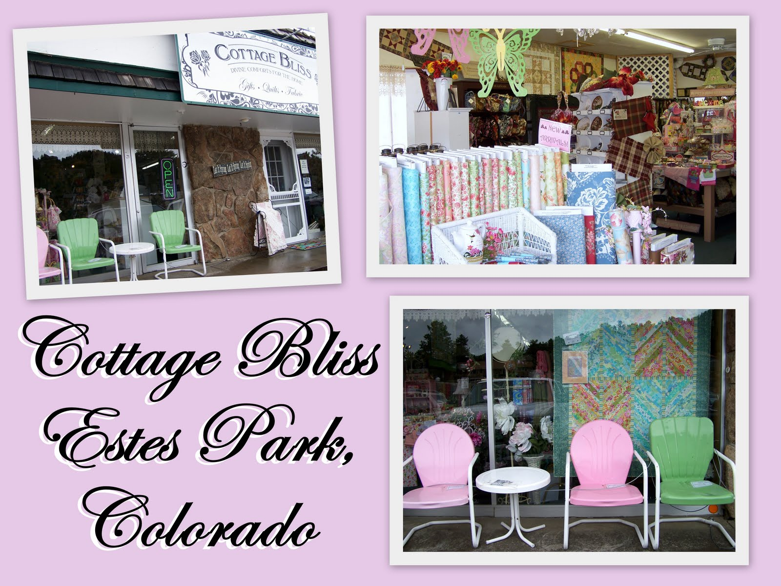 Mel's Own Place: {THREE} More Colorado Quilt Shops : colorado quilt shops - Adamdwight.com