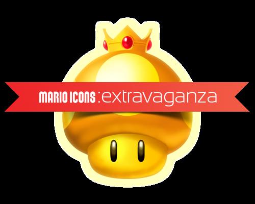 Super Mario Icons: Extravaganza