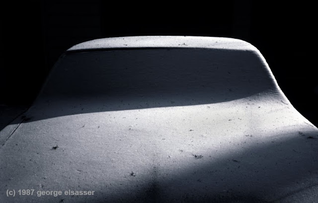 """image of a snow covered car"", (c) george elsasser"