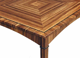 The Zebra Wood Tables