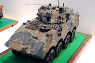 Panser canon yang akan diakuisisi teknologinya dari Doosan, Korea