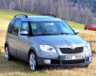 2003 Skoda Roomster Concept Automotive News