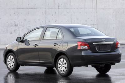 ... 2009 Toyota Yaris Sedan