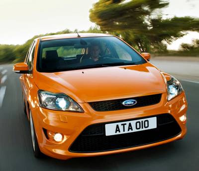 Ford Focus ST Road Pics