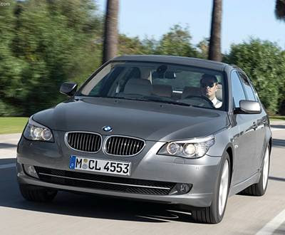 2008 BMW 5-Series. The first generation of the famous 5th series of