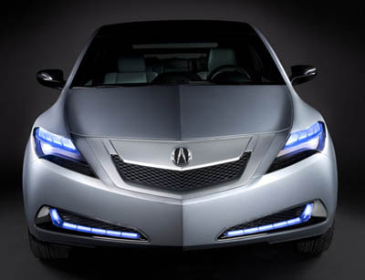 New Luxury Acura ZDX Concept