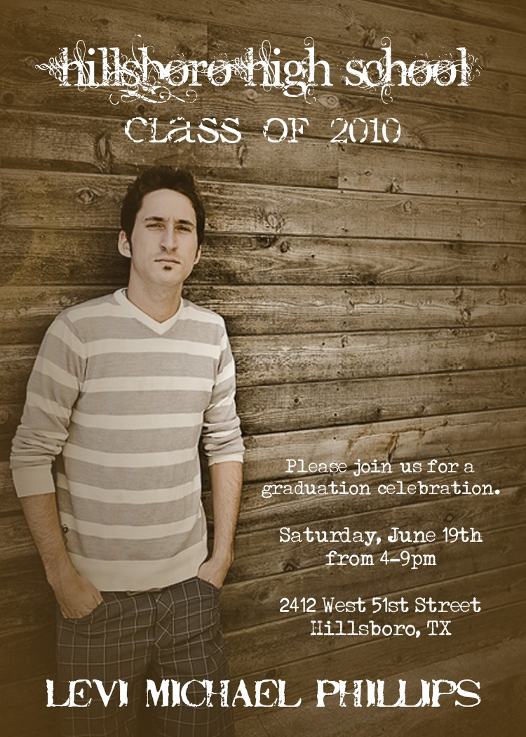 Graduation Photo Invitations can inspire you to create best invitation template