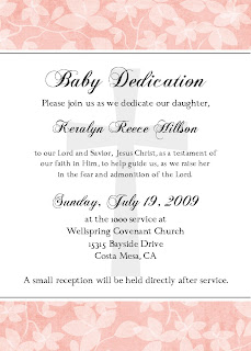 Bear River Photo Greetings Infant Dedication Invitation Or Announcement