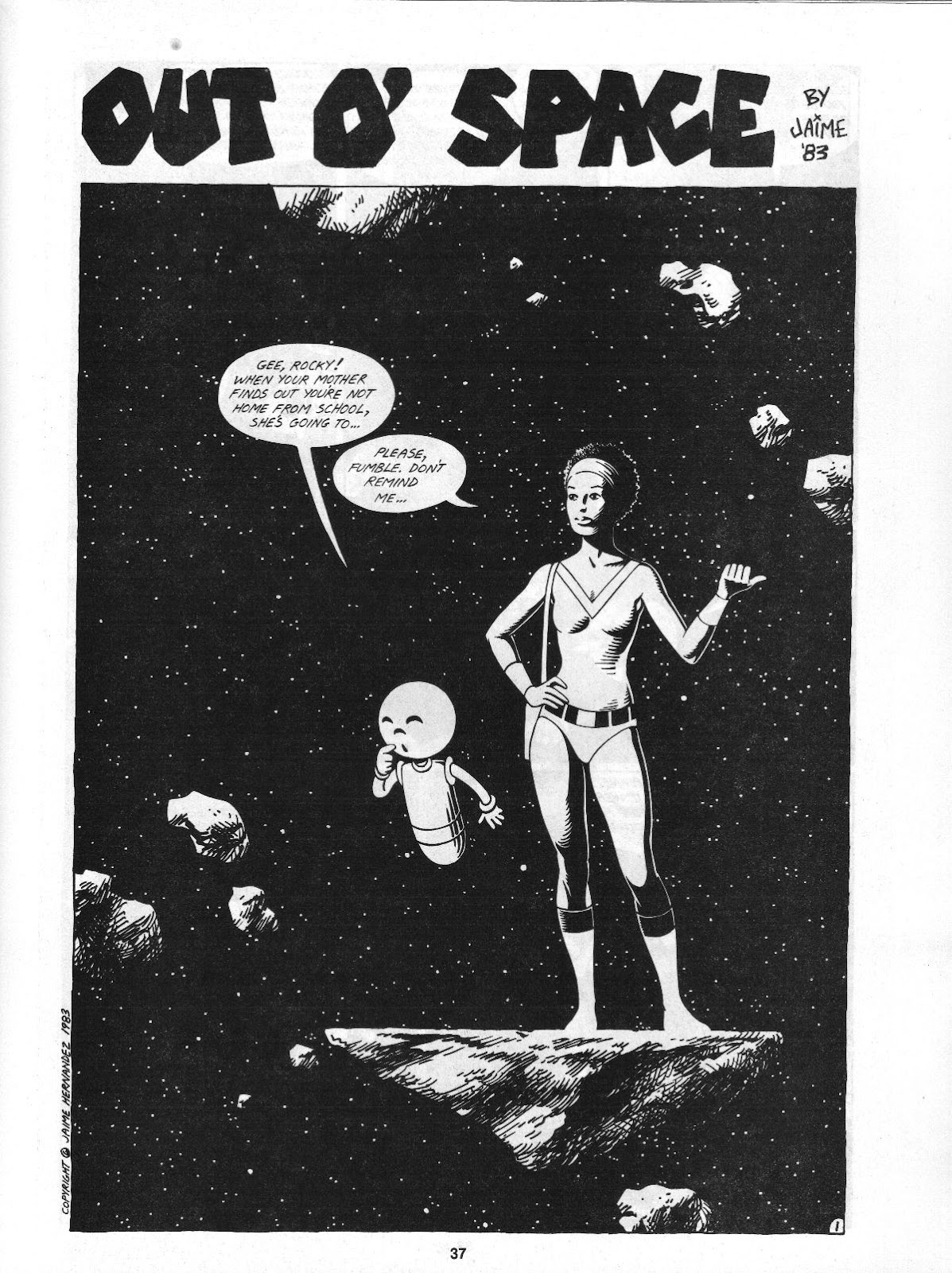 Love and Rockets (1982) Issue #4 #3 - English 39