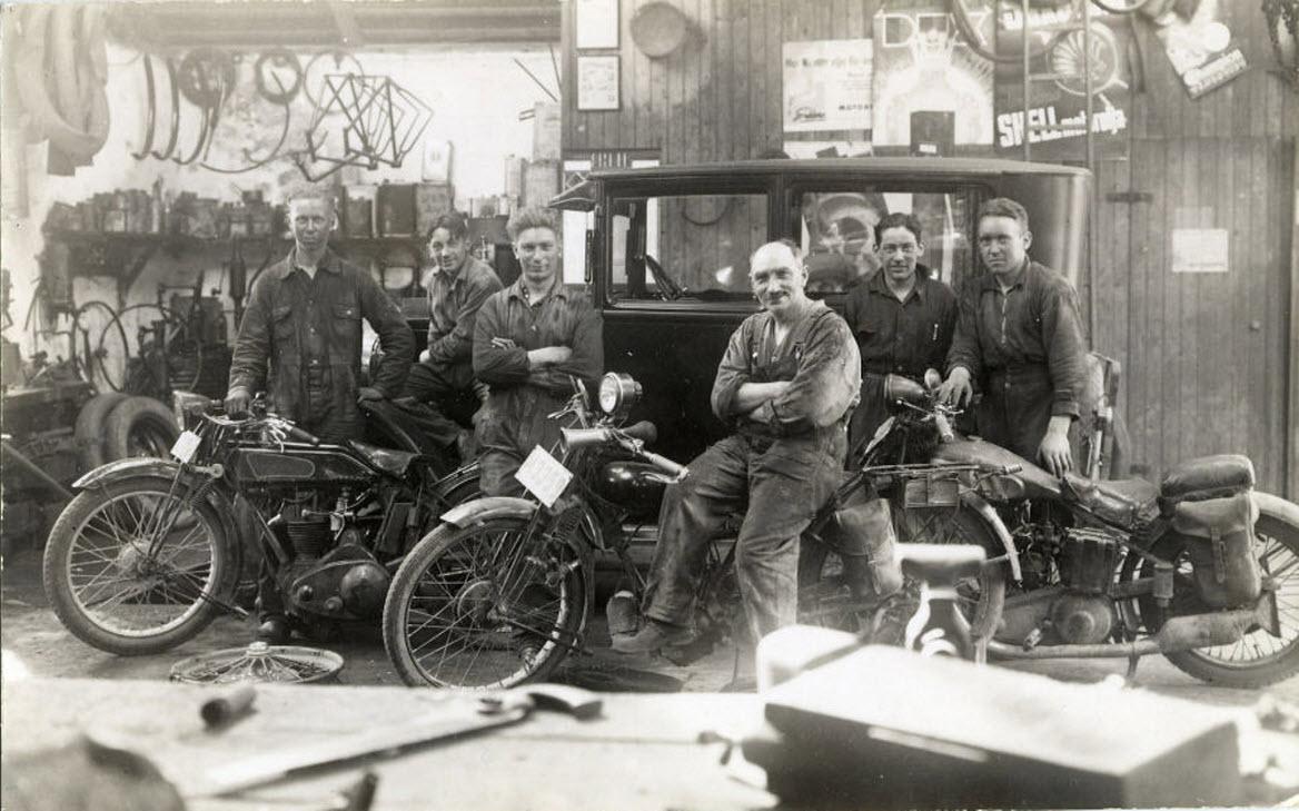 American Motorcycles Norway / Veteran-Mc.com: Workshop view