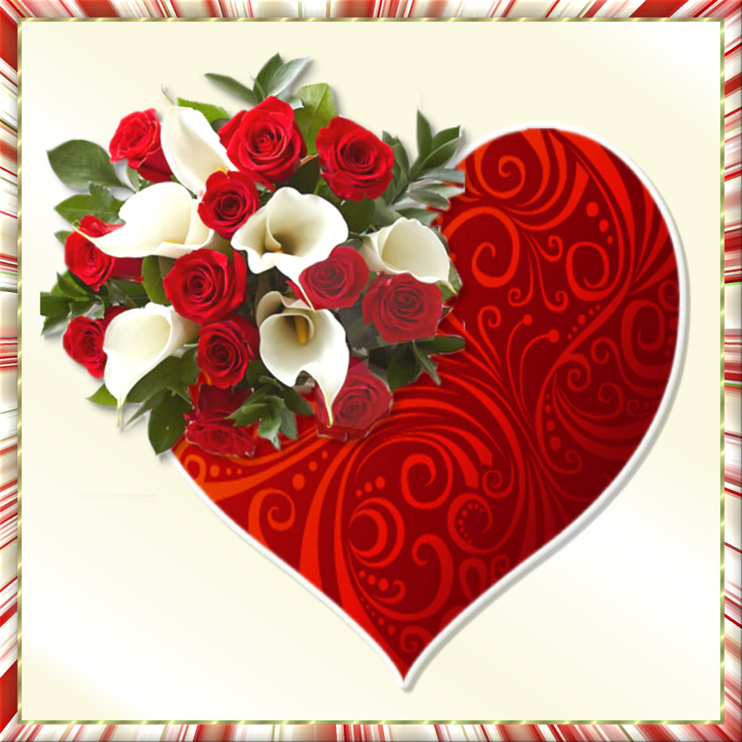 Creative Elegance Designs Heart And Flowers For You