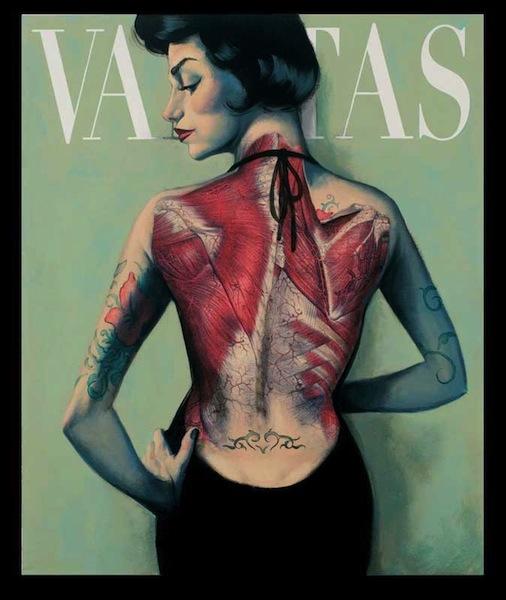 foto de tatuajes con flor. Vanitas - Tatuaje - Flor de piel. Publicado por Fernando Vicente en 08:22