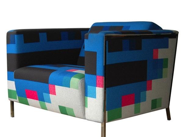 Whimsical World Of Laura Bird Pixel Furniture