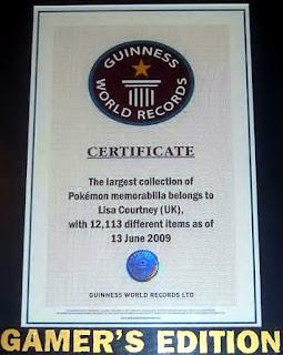 เจ้าของสถิติ นักสะสม โปเกม่อน มากที่สุดในโลก