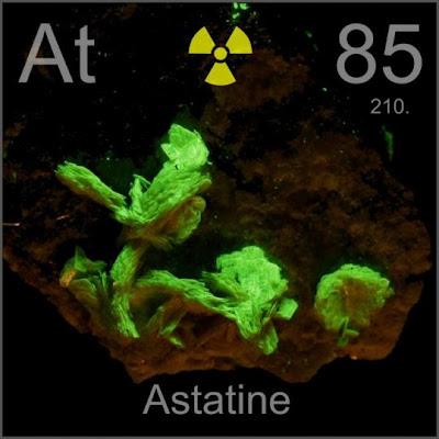 ธาตุ ที่ หายากที่สุดในโลก ( Astatime is rarest element )