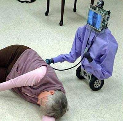 หุ่นยนต์ พยาบาล ( u-BOT-5 )