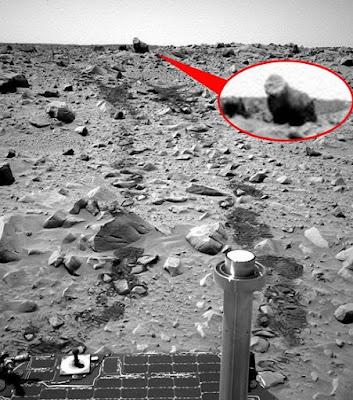 ค้นพบ สิ่งมีชีวิต บน ดาวอังคาร ( Gorilla on MARS )