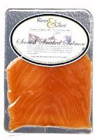 ปลาแซลมอนรมควัน