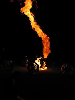 เสาเพลิงหมุน น่ากลัวที่สุด
