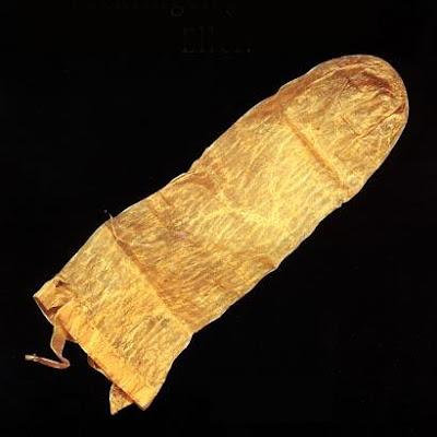 ถุงยางอนามัย ที่ เก่าแก่ที่สุดในโลก