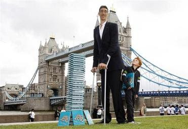 คนตัวสูงที่สุดในโลก