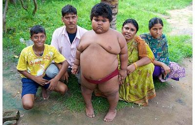 เด็กผู้หญิง อ้วนที่สุด