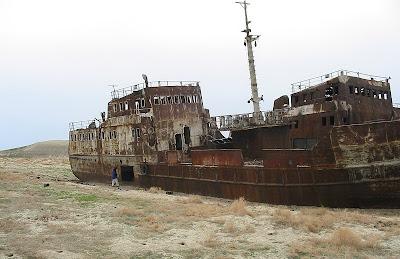 ทะเลอารัล ทะเลที่เหือดแห้ง ( Aral Sea )
