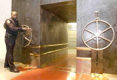 ปรตูหน้ามั่นคง ที่เก็บทองคำ มากที่สุดในโลก
