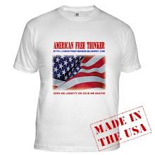 American Free Thinker Shop!