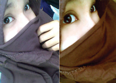 She is beautiful, gadis jilbab