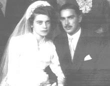 Helio Porto Sandoval e esposa