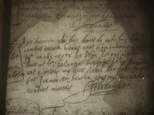 Registro de casamento de Gaspar Lourenço (o Velho) e de Joanna Barbosa - 1622