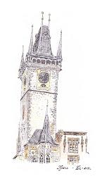 Астрономическата часовникова кула Орлой в Прага
