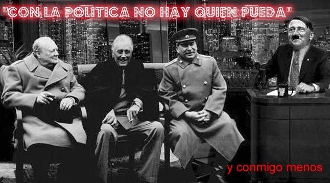 """""""Con la política no hay quien pueda"""""""