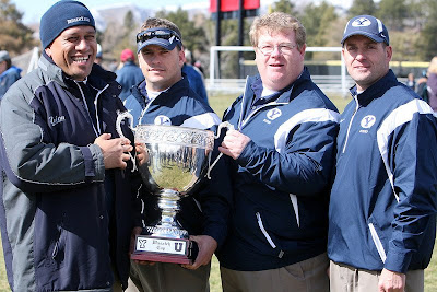 BYU Rugby Coaches pleased with the win