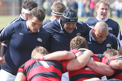 The BYU Rugby Front Row