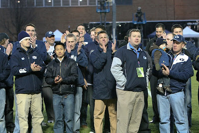BYU Rugby Alumni honored on the field at the ESPNU Game of the Week