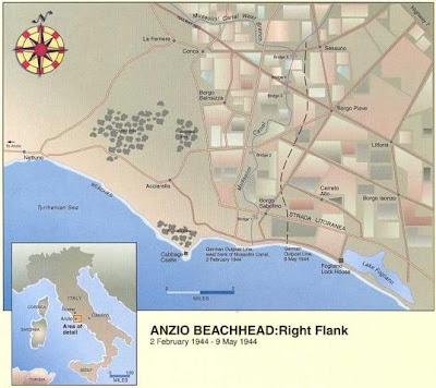 mapa anzio