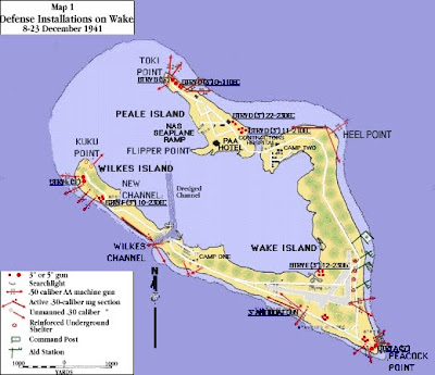 mapa wake
