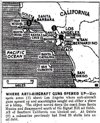 mapa Batalla de Los Angeles