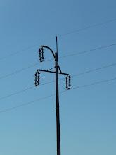 すずらん柱の送電線!!(こちらも今はなくなってしまった。)