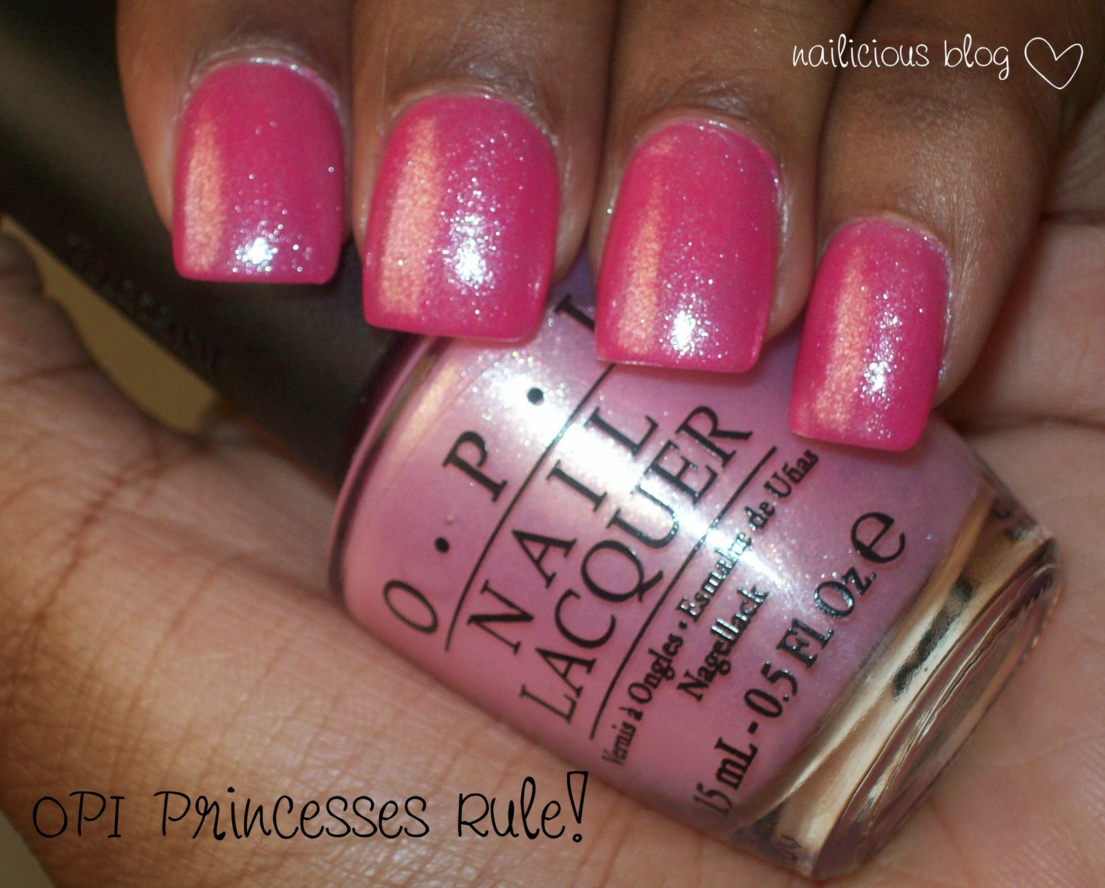 I Had To Have This Polish After Seeing It Across The Blogosphere Like That Can Put On More Coats For Buildable Coverage Or Use As A Shimmery Topcoat