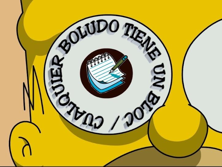 Cualquier Boludo tiene un Bloc