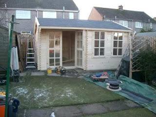log cabin insulation in Scotland