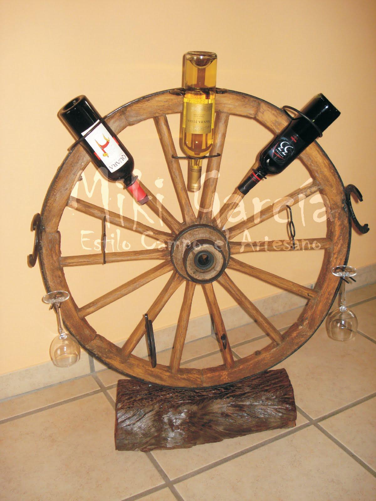 Estilo campo el artesano vinotecas - Vinotecas de madera ...